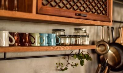 古き良き、築古戸建てリノベーション (キッチン)