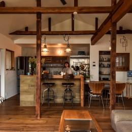 古き良き、築古戸建てリノベーション (ダイニングキッチン)