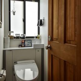 古き良き、築古戸建てリノベーション (トイレ)