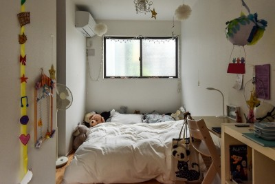 子ども部屋 (古き良き、築古戸建てリノベーション)