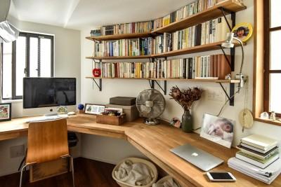 書斎 (古き良き、築古戸建てリノベーション)