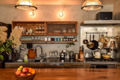キッチン (古き良き、築古戸建てリノベーション)