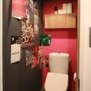 男前なグレーの写真 トイレ