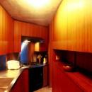 千駄ヶ谷のコンクリート打放しの写真 キッチン