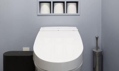 Romanesco-好きで集めたものを眺める、アーリーリタイアの暮らし (トイレ)
