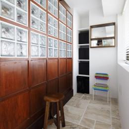 Romanesco-好きで集めたものを眺める、アーリーリタイアの暮らし-インナーテラス