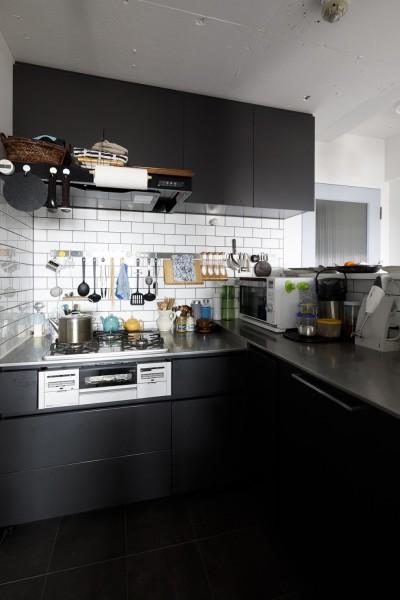 キッチン (Romanesco-好きで集めたものを眺める、アーリーリタイアの暮らし)