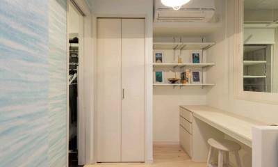 ご主人専用の個室|洗練された空間。都市の暮らしを楽しむ理想のリノベーション