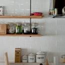 裸足が心地よい床の写真 キッチン
