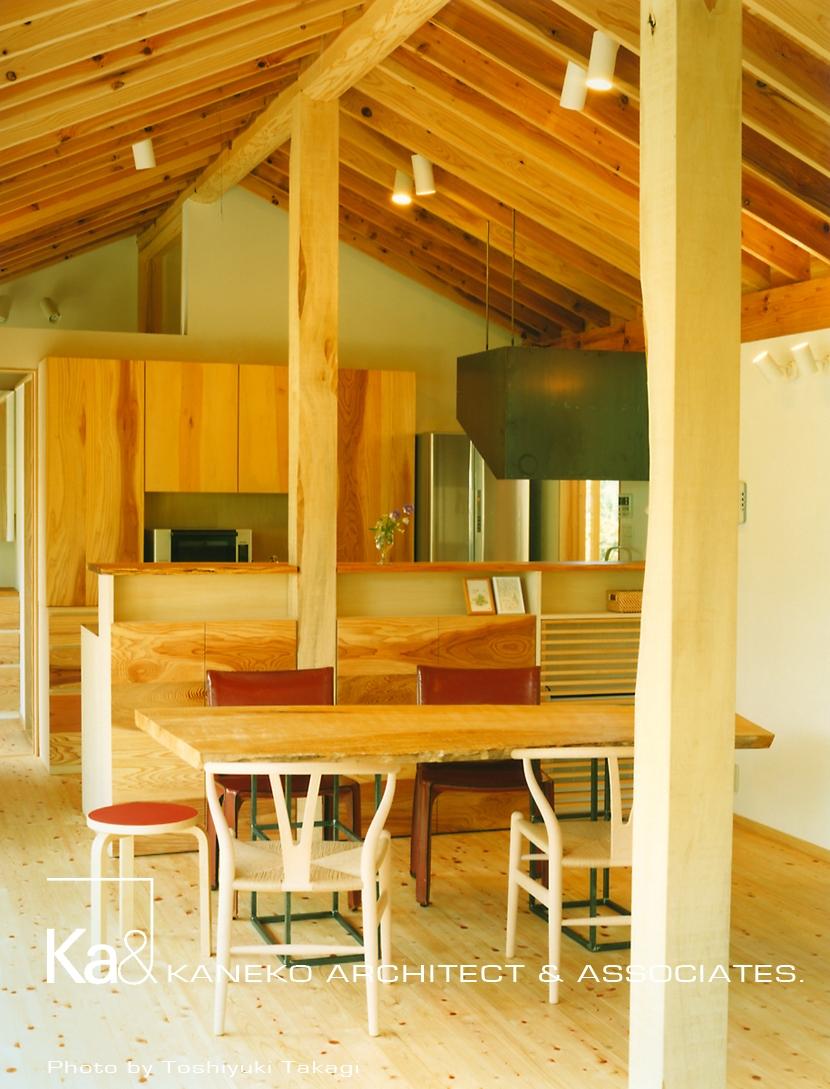 建築家:金子 勉「岩室の家 地元の加工技術で作る家」