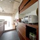 緩く間仕切るの写真 キッチン
