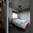 緩く間仕切るの写真 寝室