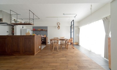 こだわりの木材の似合う家