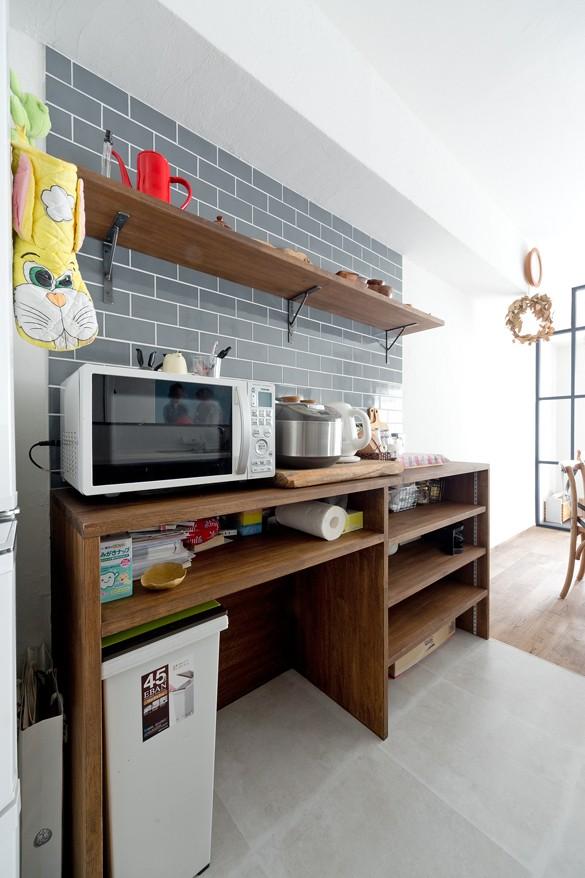 こだわりの木材の似合う家 (キッチン)