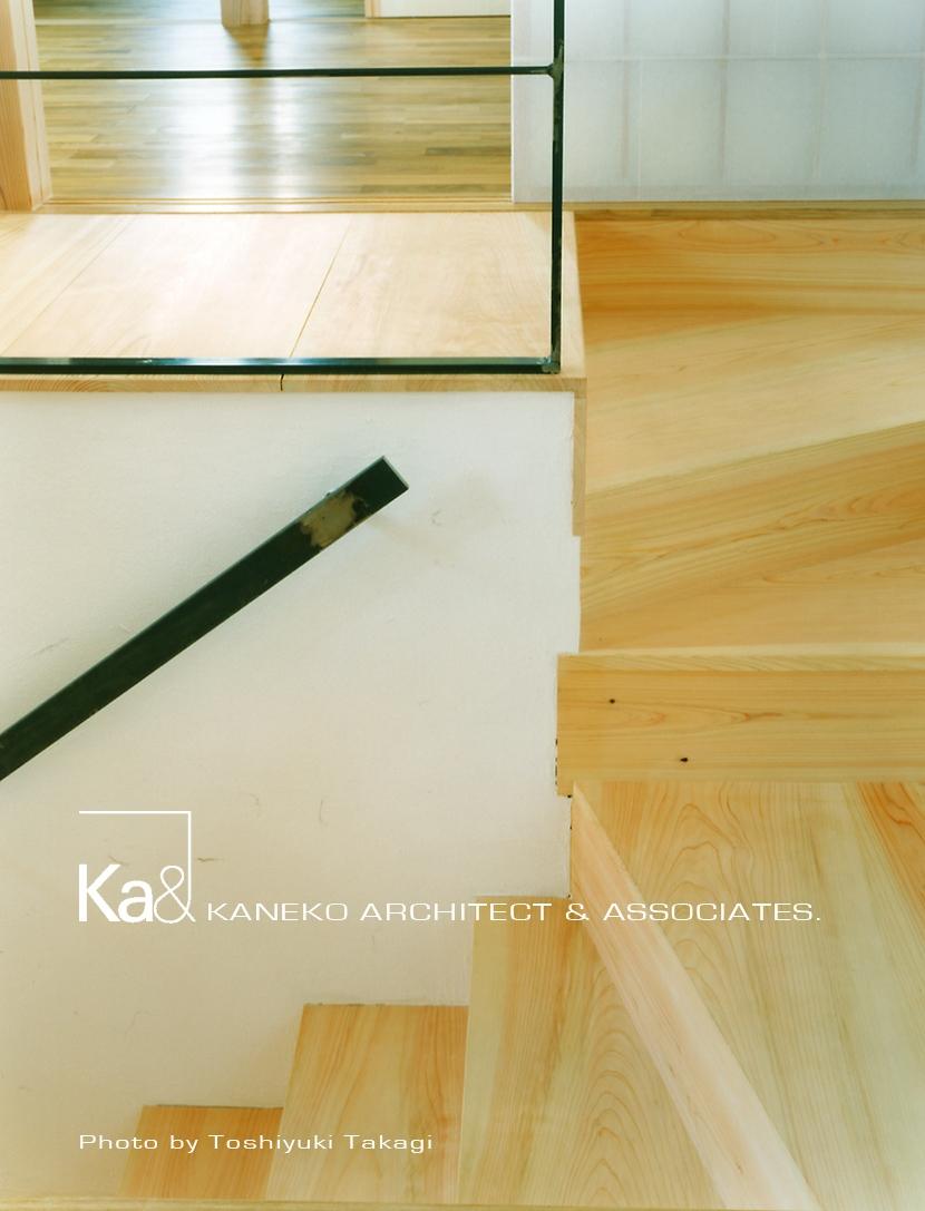 岩室の家 地元の加工技術で作る家 (階段)