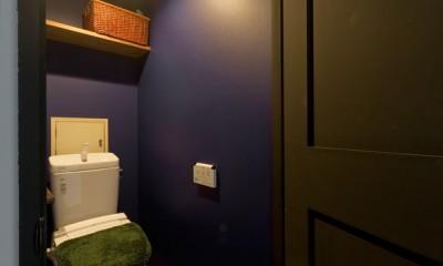 NYブルックリンスタイルリノベーション (トイレ)