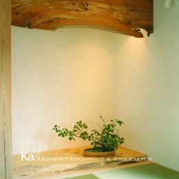 岩室の家 地元の加工技術で作る家 (和室)