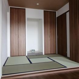 和室 (「男前スタイル」で素材感を楽しむインダストリアルヴィンテージ)