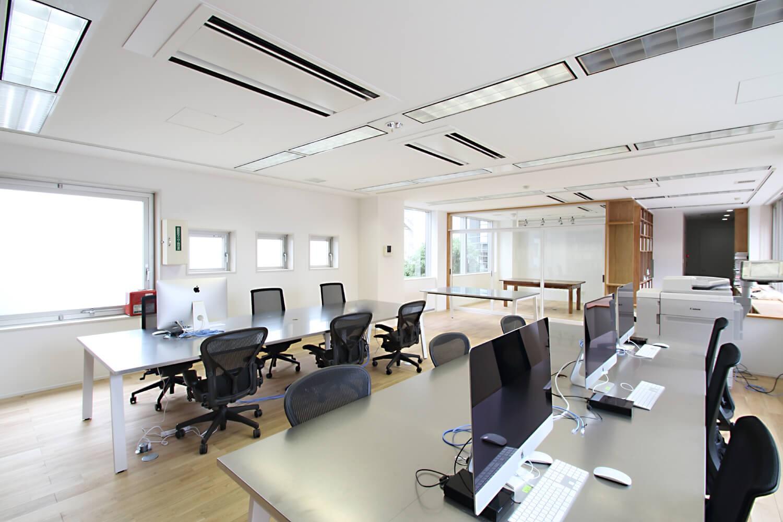その他事例:オフィス(居心地の良いオフィス空間でクリエイティブな発想を。)