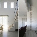Kentaro Toyoda Fukayamaの住宅事例「港南台の家|ロフトまでの吹き抜けのあるシャビーシックな家」