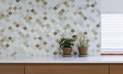 浜田山の家|スタイリッシュなNYスタイルの空気が漂う大階段のリノベーション (キッチン)