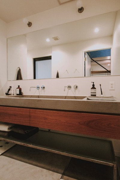 洗面室 (都心のコーポラティブハウスリノベ)