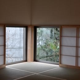 松庵の家 樹々と共生する家 (和室)