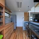 甲斐元町の家~遊び心のある家~の写真 キッチン