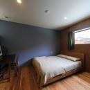 甲斐元町の家~遊び心のある家~の写真 寝室