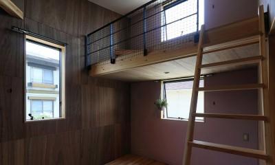甲斐元町の家~遊び心のある家~ (子供部屋)