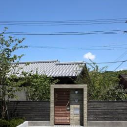 山隈の家 (門)
