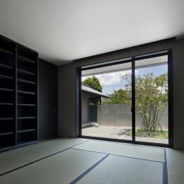 山隈の家 (和室)