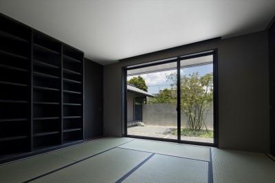 和室 (山隈の家)