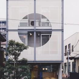 光と風が流れる家|O HOUSE (北側外観)