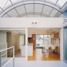 光と風が流れる家|O HOUSE (ダイニング・キッチン)