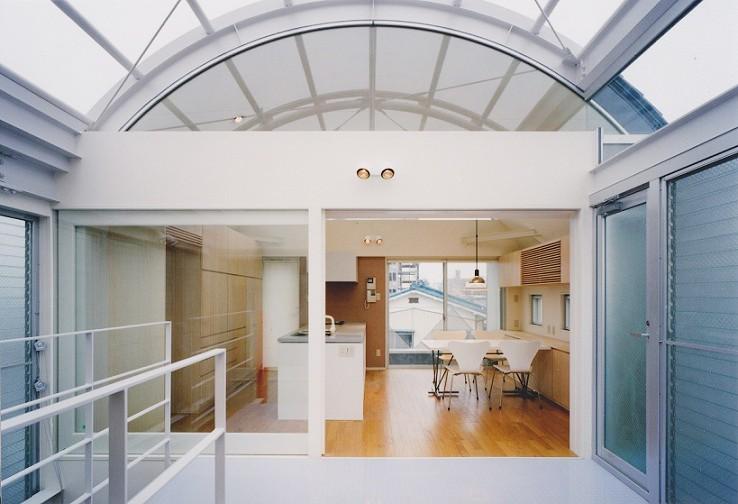 光と風が流れる家 O HOUSE (ダイニング・キッチン)