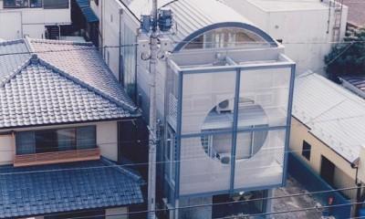 光と風が流れる家 O HOUSE (外観)