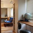 牛込神楽坂 マンションリノベーションの写真 寝室