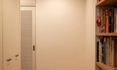 牛込神楽坂 マンションリノベーション (玄関)