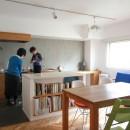 牛込神楽坂 マンションリノベーションの写真 LDK