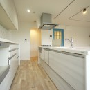 『キッチンを中心に』の写真 キッチン2