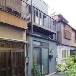 築60年 下町町屋の耐震改修 (外観)