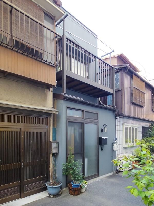 外観 (築60年 下町町屋の耐震改修)