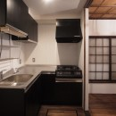 築60年 下町町屋の耐震改修の写真 キッチン