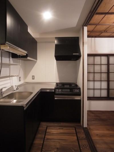 築60年 下町町屋の耐震改修 (キッチン)