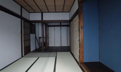 築60年 下町町屋の耐震改修 (2階 和室)