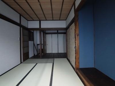 2階 和室 (築60年 下町町屋の耐震改修)