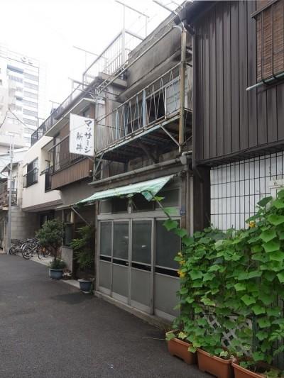 改修前 外観 (築60年 下町町屋の耐震改修)