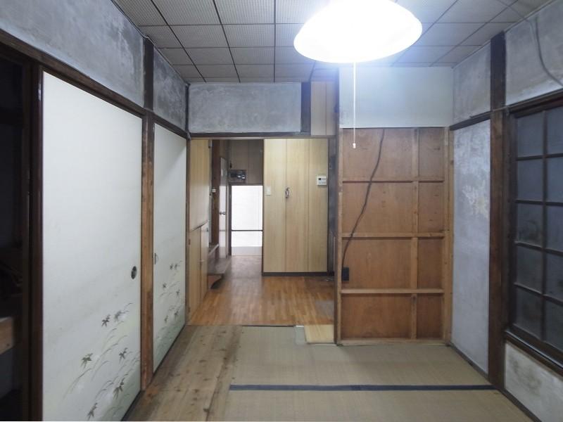 築60年 下町町屋の耐震改修 (改修前)