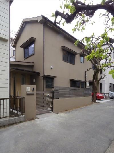 築70年 和モダン耐震改修住宅 (外観)